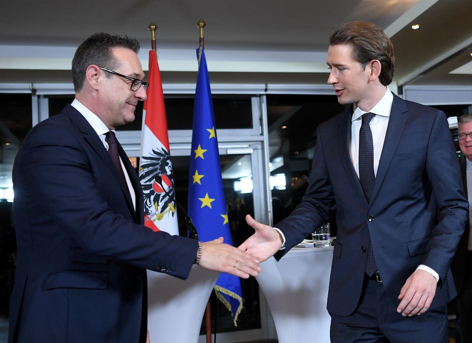 ÖVP-FPÖ-Bündnis in Österreich