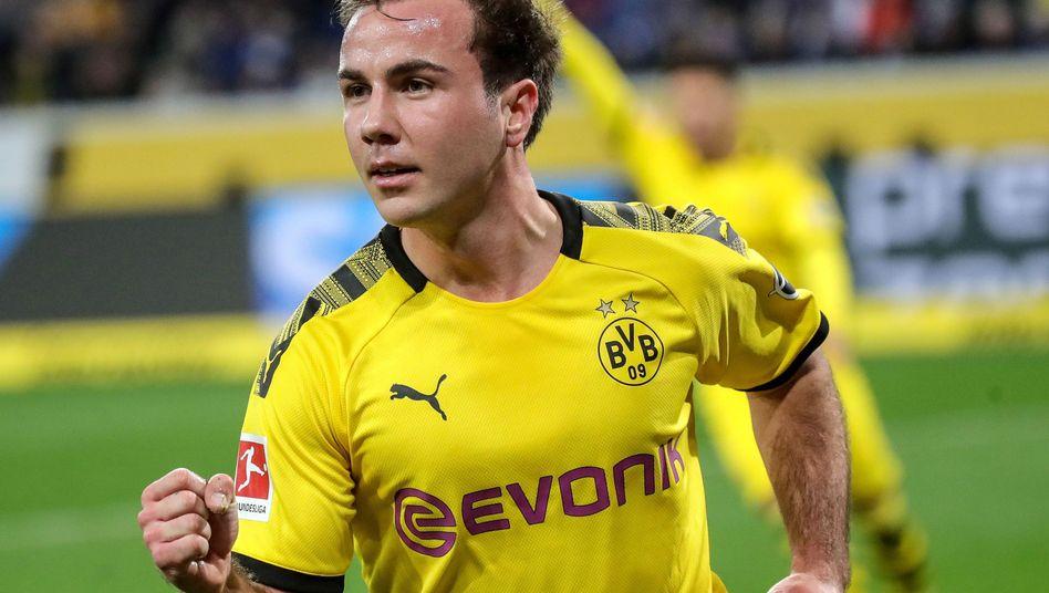 Wie lange jubelt Mario Götze noch für den BVB?