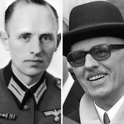 BND-Gründer Gehlen: Der ehemalige Wehrmachtsgeneral schuf mit zahlreichen Kameraden den westdeutschen Nachrichtendienst