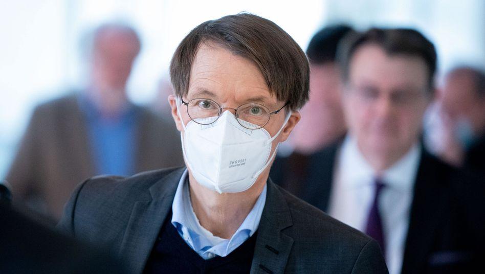 """SPD-Politiker Lauterbach: """"Keine Neuigkeiten in Bezug auf die Gefährlichkeit des Virus"""""""