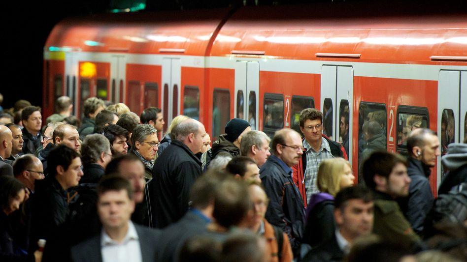 Eine S-Bahn