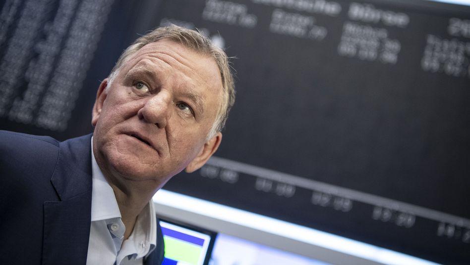 Traton-Chef Andreas Renschler kurz nach Börsenstart: Am Ende des ersten Handelstags steht ein Verlust