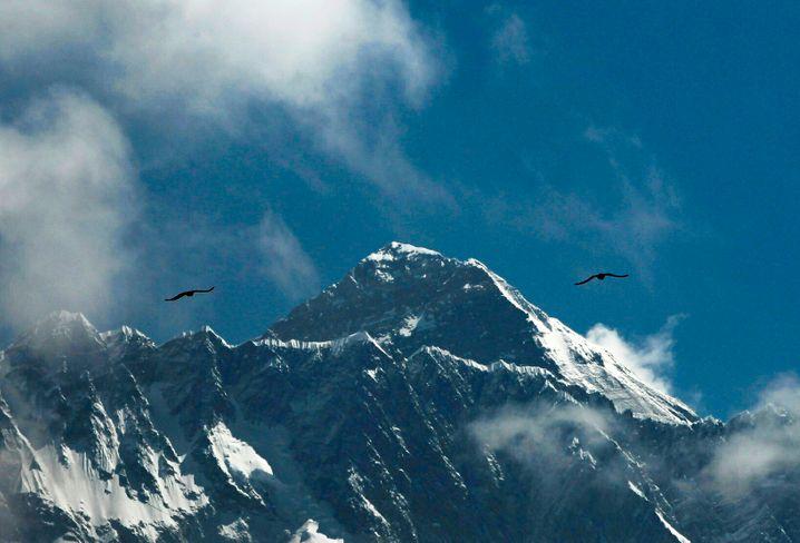 In diesem Frühling sind keine Besteigungen des Mount Everest erlaubt