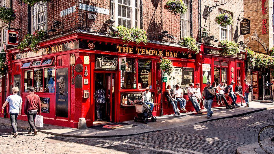 Temple Bar in Dublin: In Irlands Kneipen lernt man viel über das Land