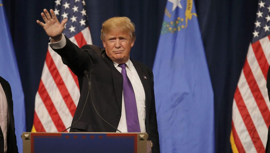 """Kandidat Trump: """"Wir siegen, siegen, siegen"""""""