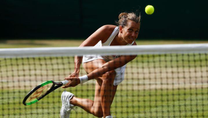 Wimbledon 2019: Barbora Strycova, Netzbeauftragte