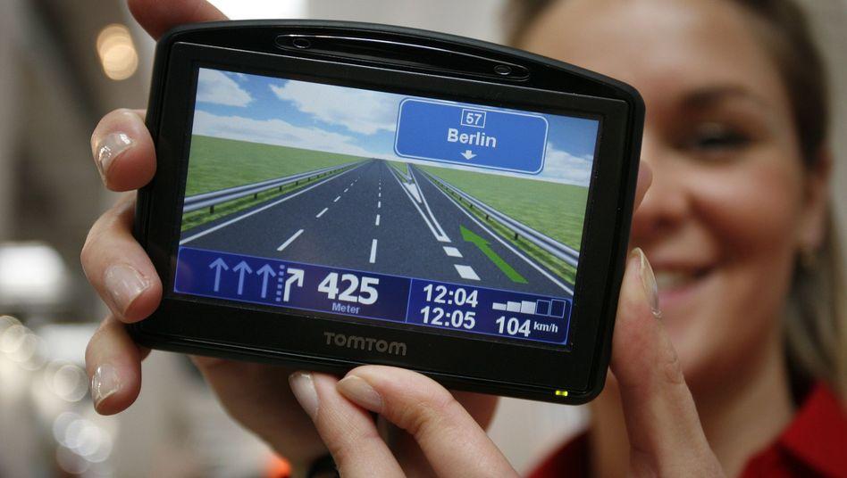 Navigationsgerät: TomTom setzt künftig eher auf den Verkauf von Verkehrsinformationen