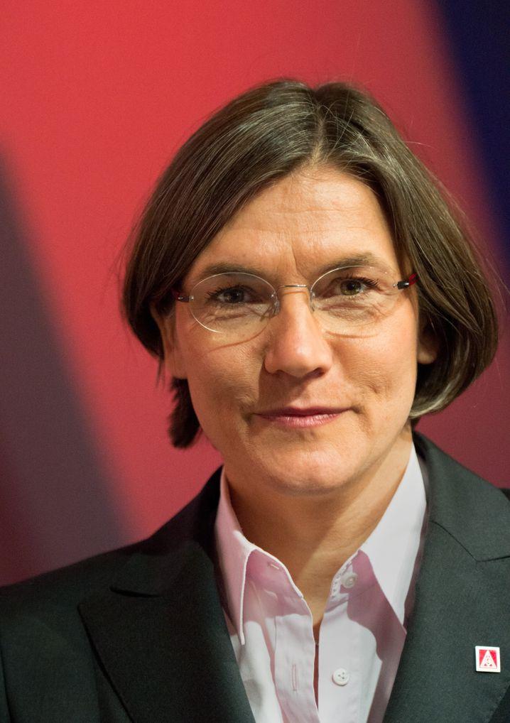 Christiane Benner von der IG Metall: Arbeitswelt im Wandel