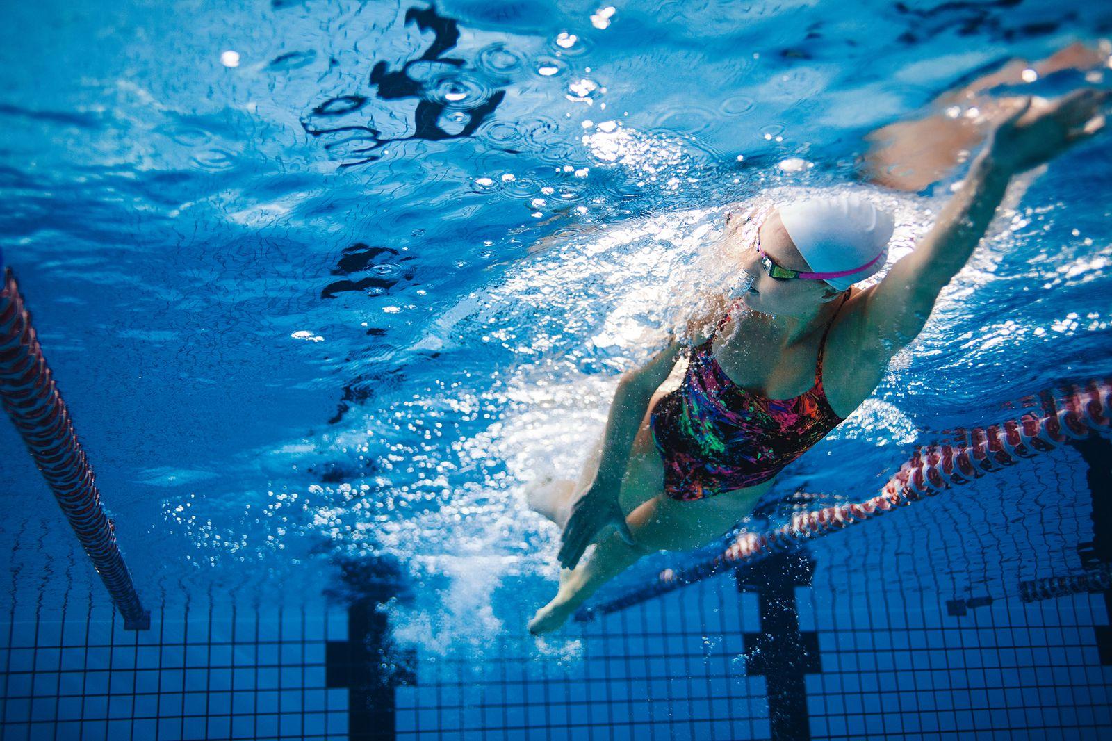 EINMALIGE VERWENDUNG Rätselhafter Patient /Schwimmerin