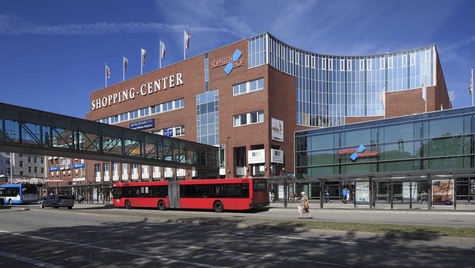 Shoppingcenter Sophienhof in Kiel: Vorfall im Restaurantbereich