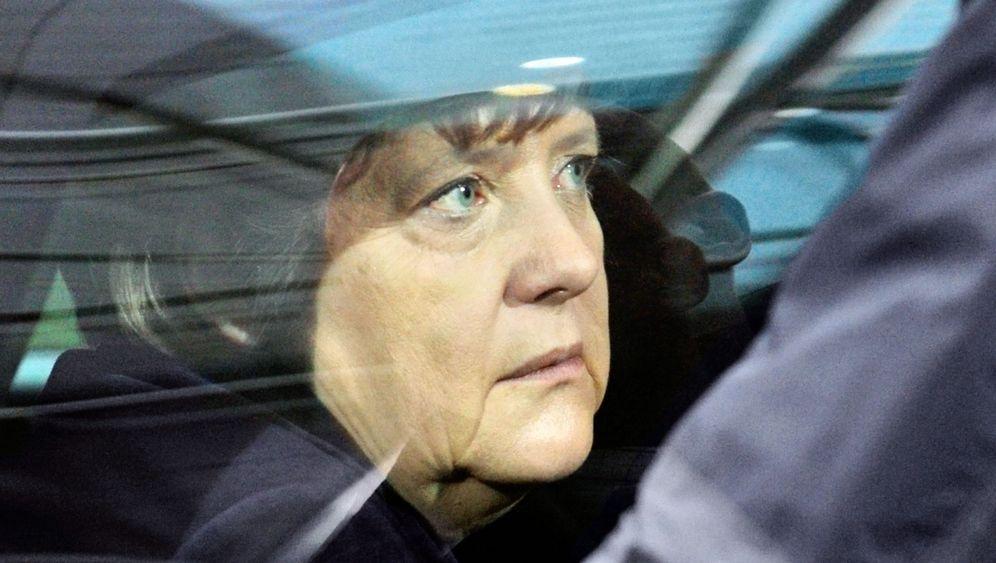 Photo Gallery: Merkel's Weber Problem