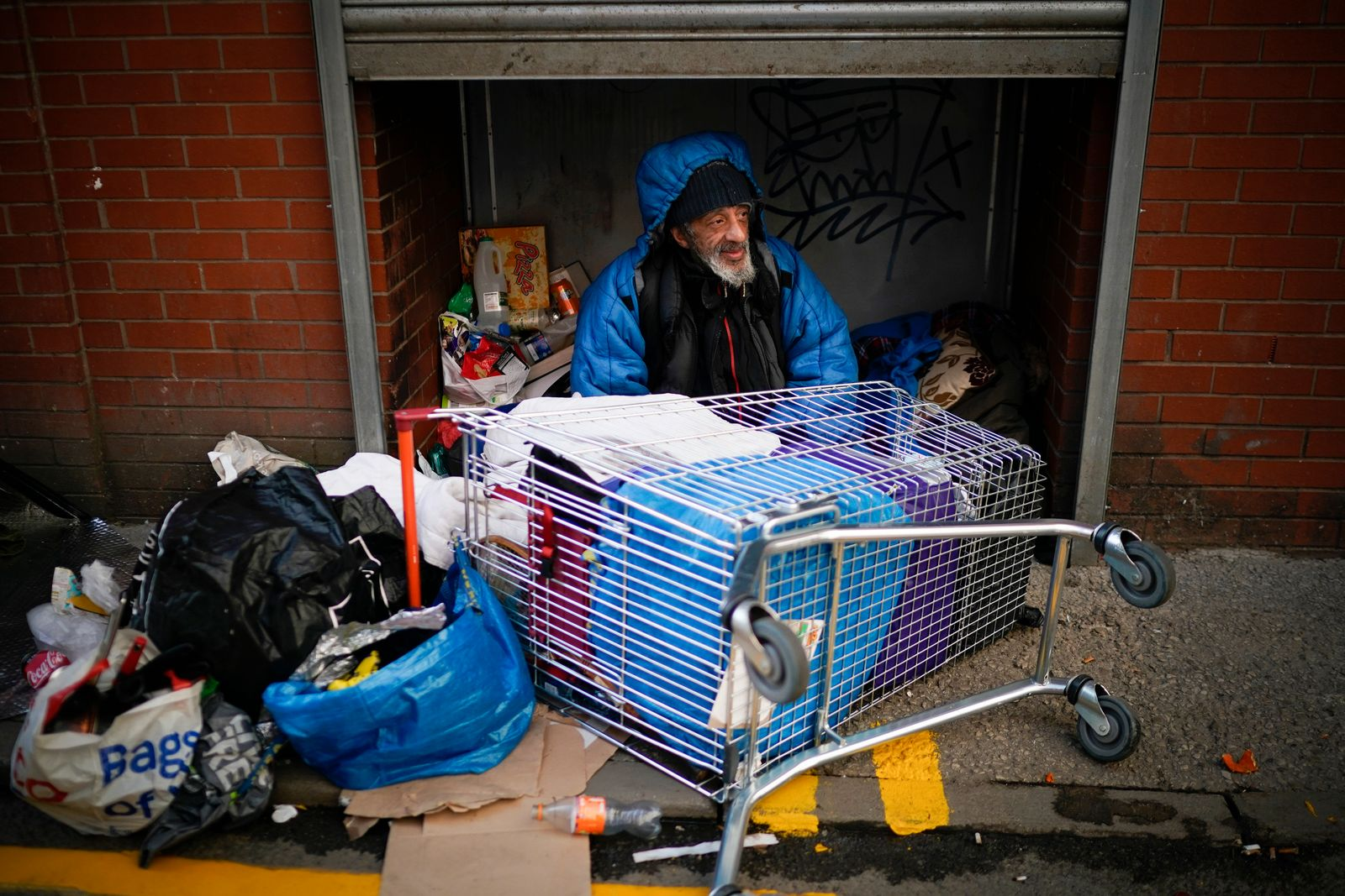 *** BESTPIX *** Councils To House Rough Sleepers Amid Coronavirus Outbreak