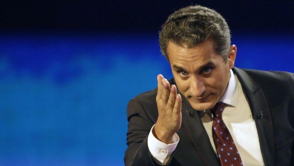 """Bassem Youssef: """"Ich bin müde und fühle mich in meiner persönlichen Sicherheit bedroht"""""""