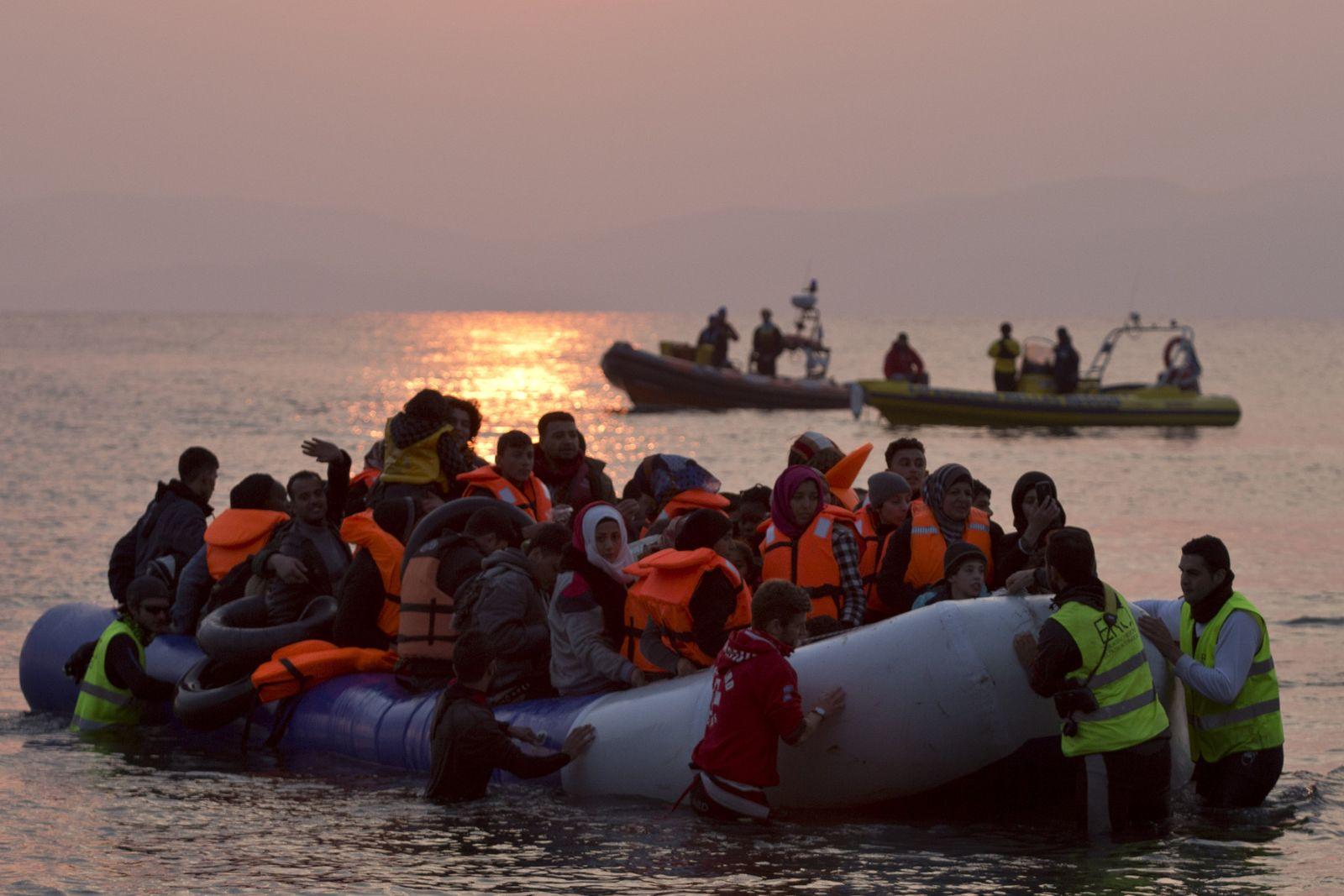Griechenland/ Flüchtlinge/ Zustrom