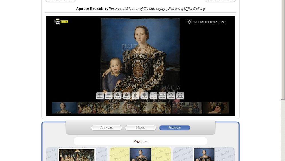 Haltadefinizione: Meisterwerke unter der virtuellen Lupe