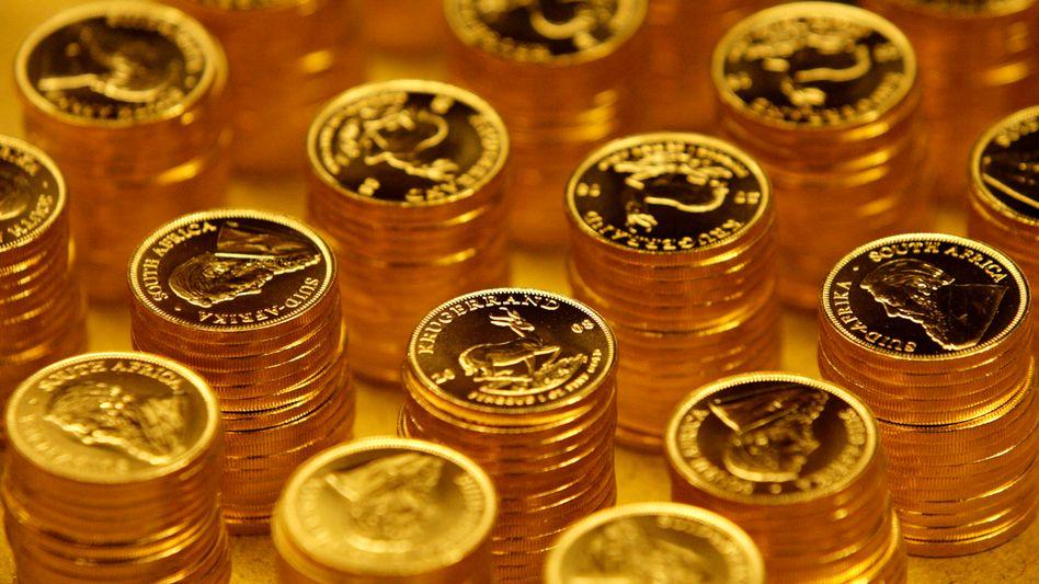 Südafrikanische Krüger-Rand-Münzen: Goldanlagen sind derzeit gefragt wie nie