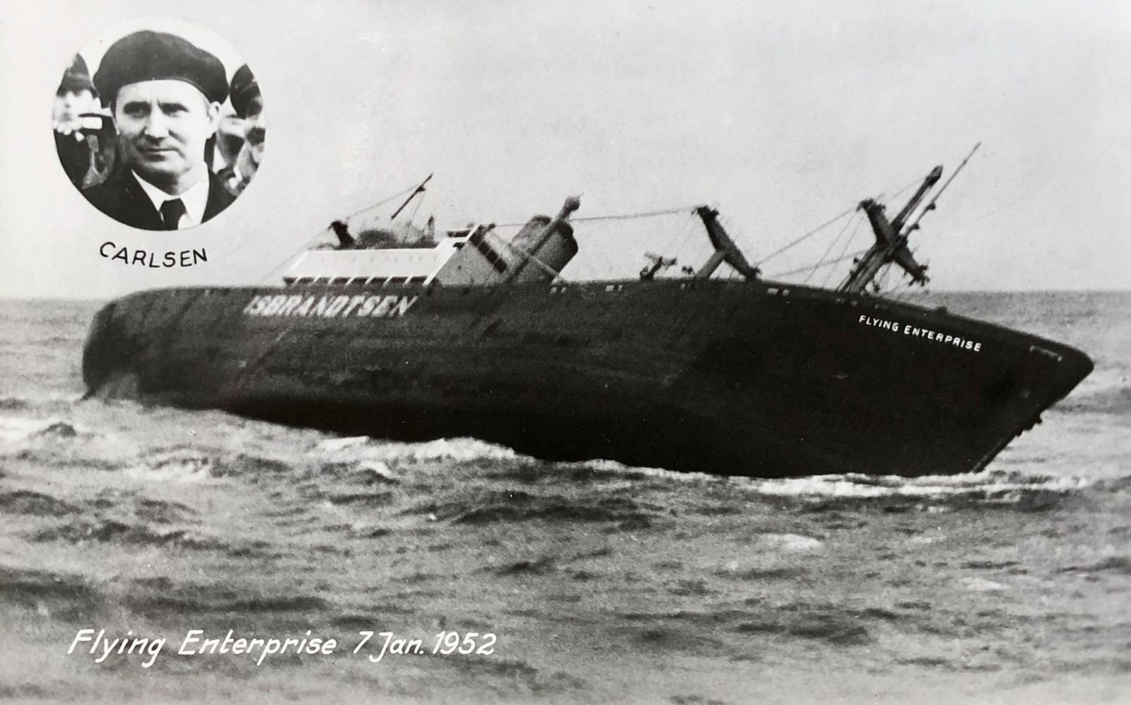 Kapitän von Bord - 10th January 1952, Kurt Carlsen the Captain