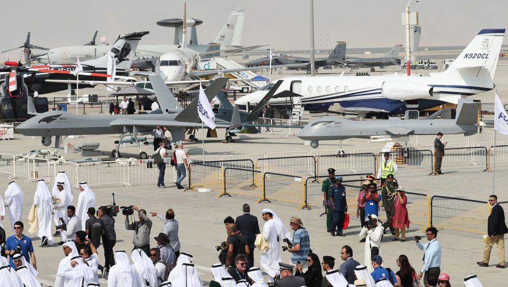 Dubai Air Show: Jets und Drohnen für die Krisenregion
