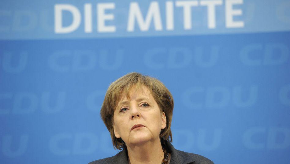 """Kanzlerin Merkel: """"Sehr rudimentäre und unausgewogene Grundlage für Entscheidungen"""""""