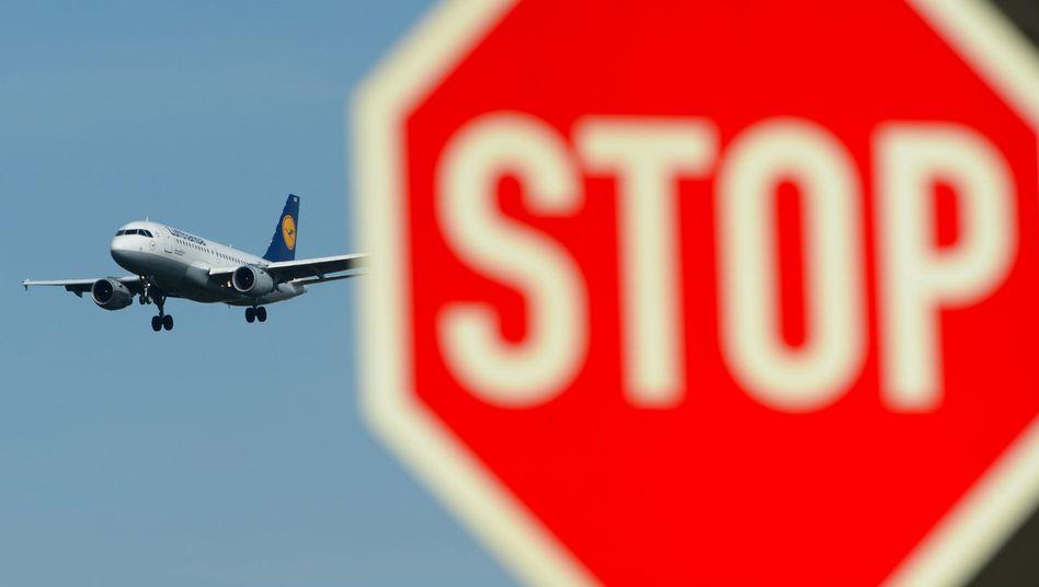 Lufthansa-Maschine: 24 Stunden Ausstand am Mittwoch