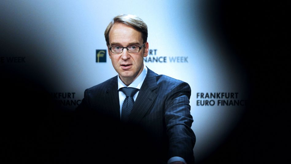 "Bundesbankpräsident Weidmann: ""Nah an Staatsfinanzierung durch die Notenpresse"""