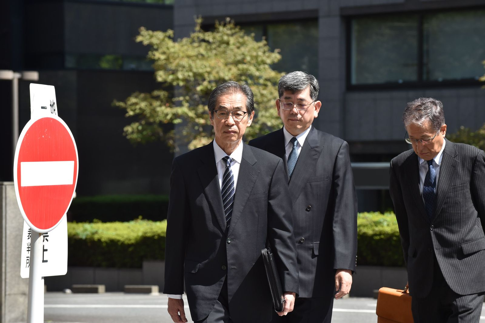 JAPAN-NUCLEAR-ACCIDENT-TRIAL-COURT-FUKUSHIMA
