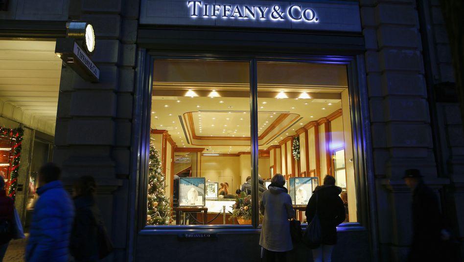 Tiffany-Laden in Zürich: Gewinnwarnung ausgesprochen