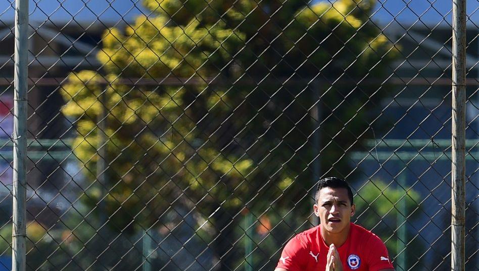 Achtelfinale gegen Brasilien: Chiles ängstliche Krieger