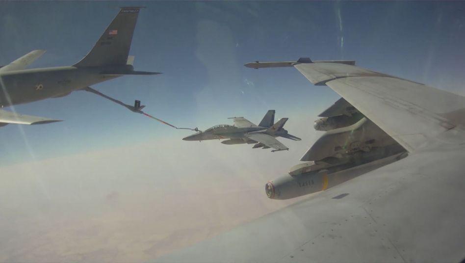 """Kampf gegen """"Islamischen Staat"""" imIrak: US-Luftschläge gegen Terroristen ohne großen Erfolg"""