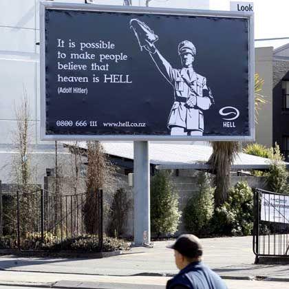 Skandalöse Pizza-Werbung in Auckland: Geschmacklose Kampagne