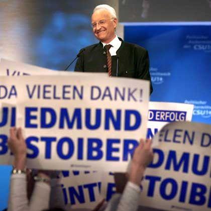 """Stoiber-Auftritt beim Politischen Aschermittwoch: """"Edmund, halt durch"""""""