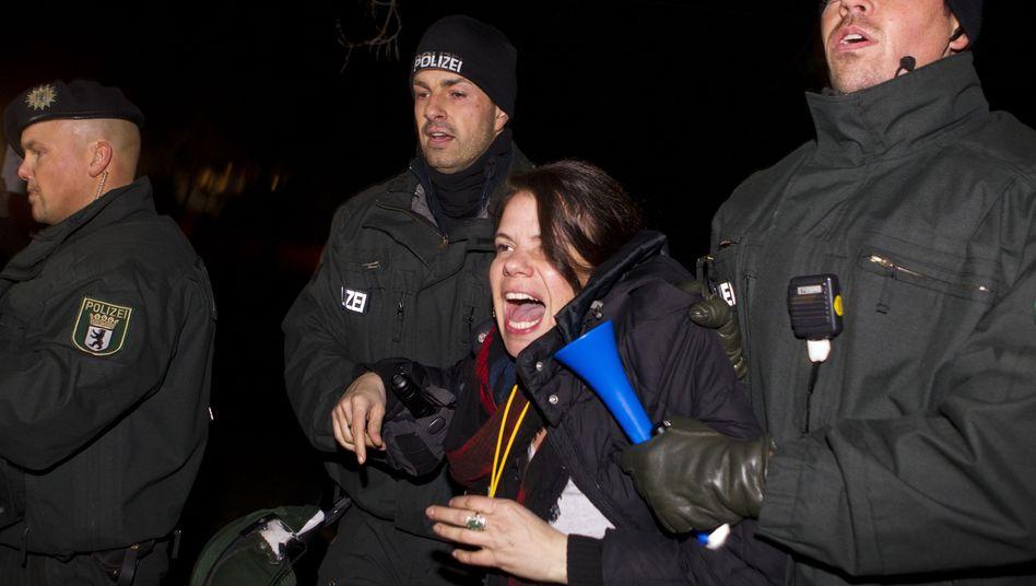 Polizeieinsatz bei Vuvuzela-Protest: Zapfenstreich-Aktion könnte Konsequenzen haben