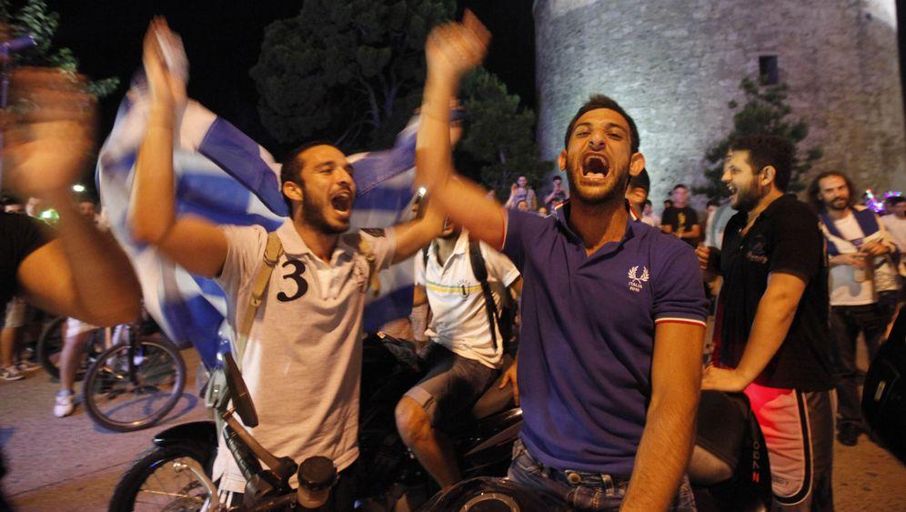 Euro-Krise, EM-Freude: Griechenland vor der Parlamentswahl