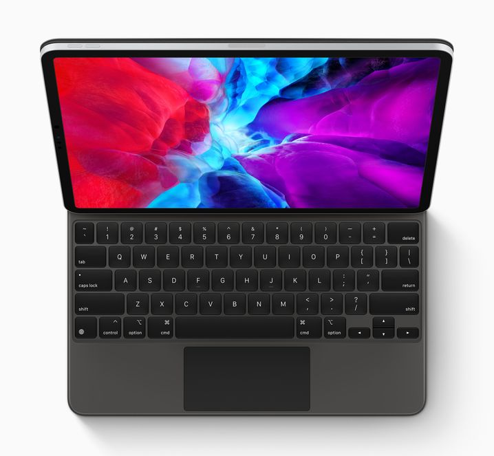 Neues iPad Pro mit Tastatur und Trackpad