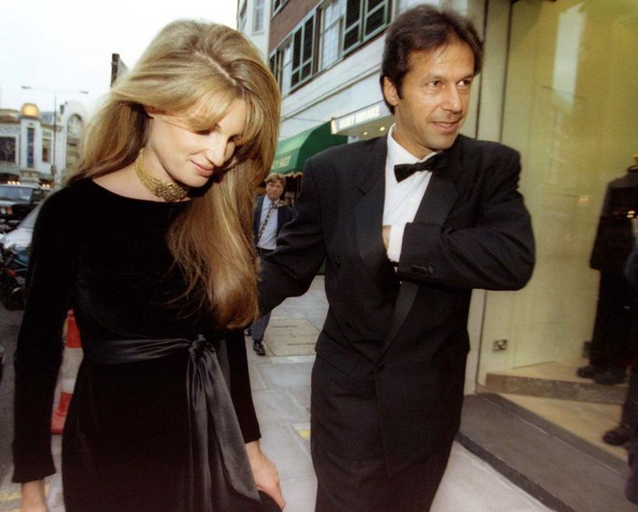 Jemima Goldsmith und Imran Khan (Archiv)