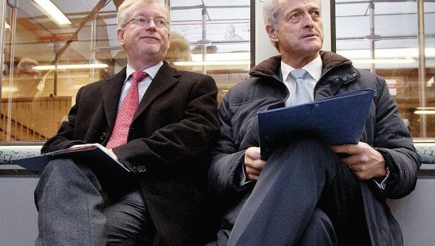 Staatssekretär Scheurle, Verkehrsminister Ramsauer: Wünsche der mächtigen Gewerkschaft erfüllt
