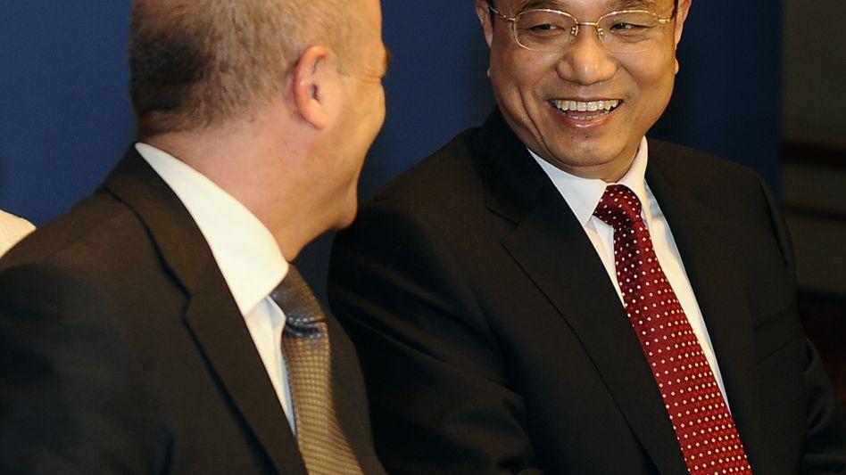 Chinesischer Vize-Premier Li Keqiang: Freundlich, verbindlich, finanzstark