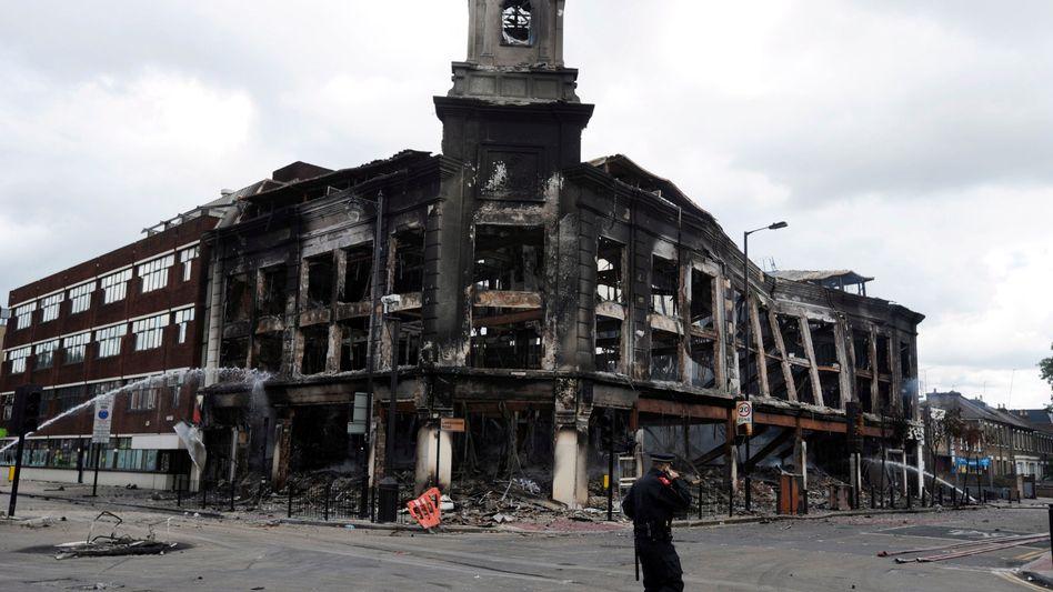"""Schwere Krawalle in London: """"Es war wie im Krieg"""""""