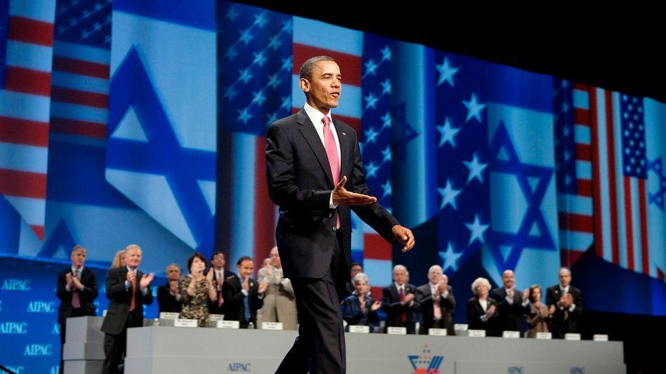 """Obama bei der jüdischen Lobby Aipac: """"Empört und entfremdet"""""""