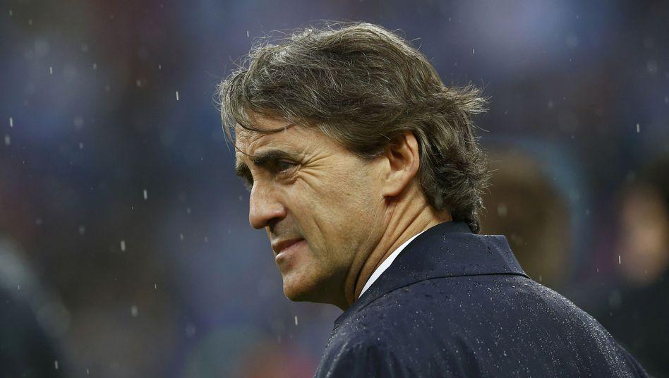 City-Coach Mancini: Im Vorjahr der Titel dieses Jahr entlassen