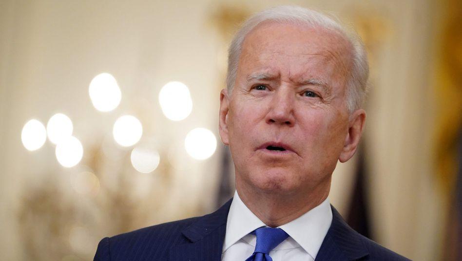 US-Präsident Joe Biden kann sich über seinen ersten großen Erfolg im Kongress freuen.