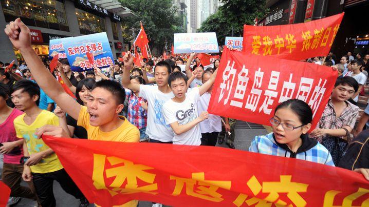 China und Japan: Inseln im Fokus von Nationalisten