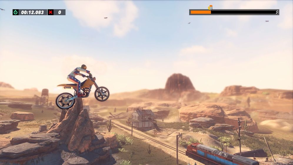 "Motocross-Game ""Trials Rising"": Loopings, Schanzen und tiefer Löcher"