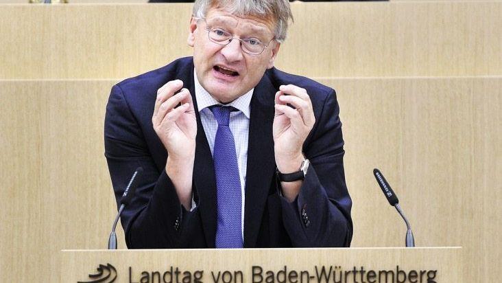 Abgeordneter Meuthen Mischung aus Alarmismus und Dilettantismus
