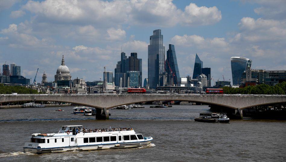 Londoner Finanzdistrikt: Ausnahme von der Regel?