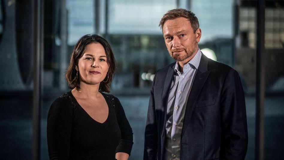 Grünenchefin Baerbock, FDP-Chef Lindner: Ein wenig Pragmatismus kann nicht schaden