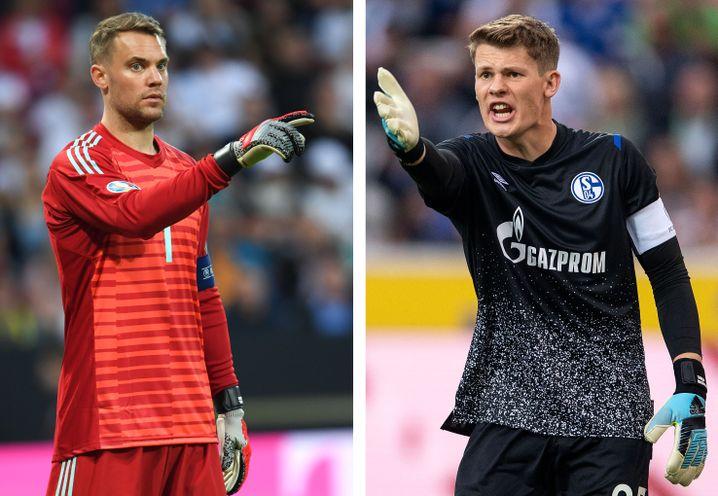Manuel Neuer (links) wird seinen Stammplatz gegen Alexander Nübel möglichst lange verteidigen wollen