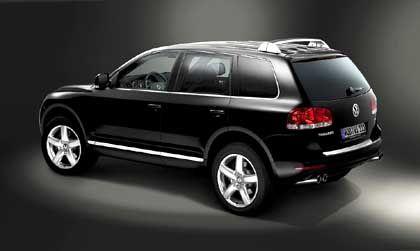 Heckansicht: Einziger SUV mit Zwölfzylindermotor