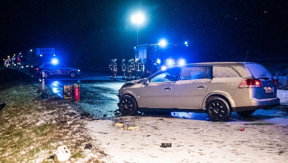 Unfall auf der Bundesstraße 463 bei Albstadt