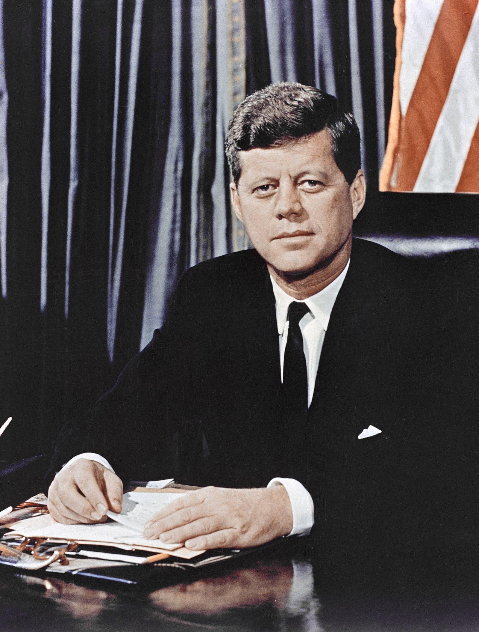 Für Flash/ 35th President John F. Kennedy